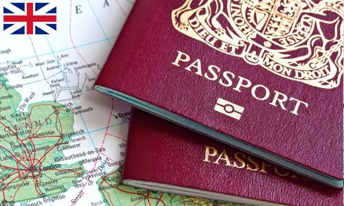 Các loại visa anh