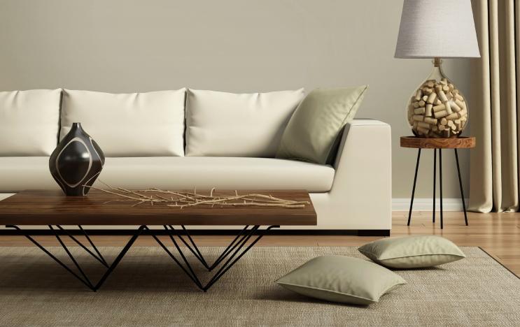 Thiết kế của phòng khách tại biệt thự Adelaide Úc