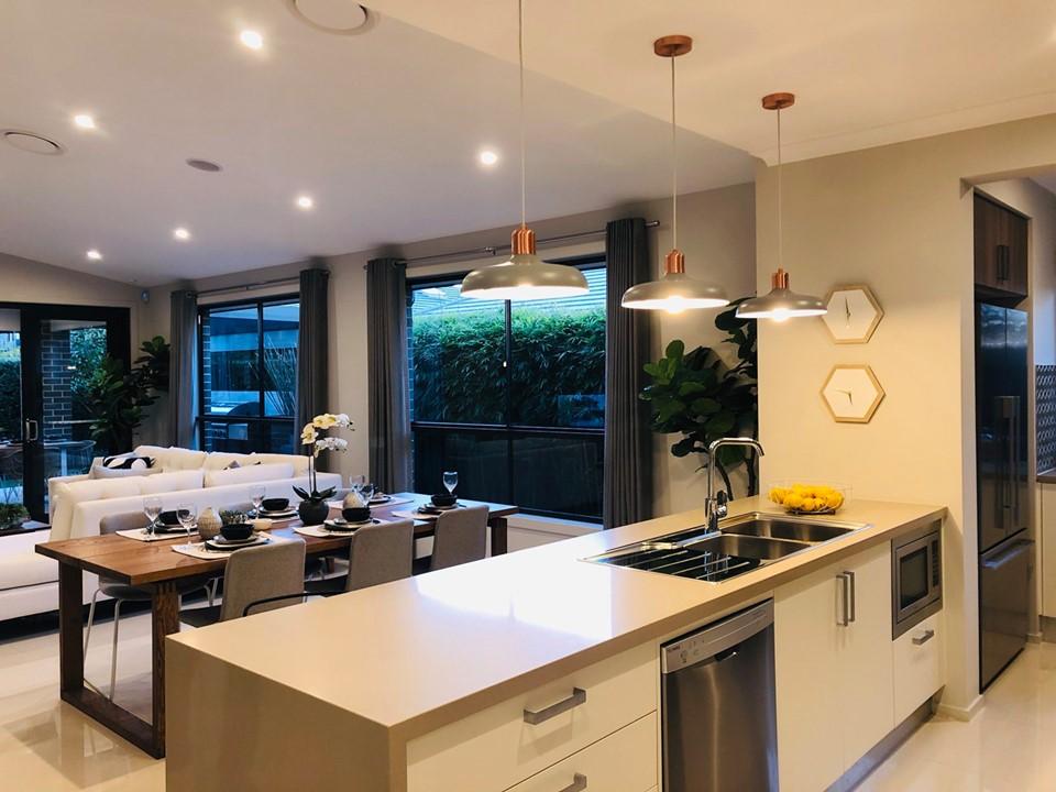 Phòng bếp biệt thựSydney Úc