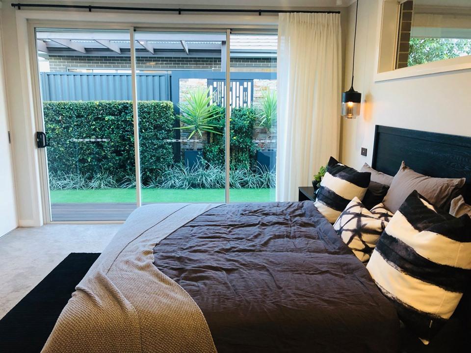 Mẫu giường ngủ của biệt thựSydney Úc