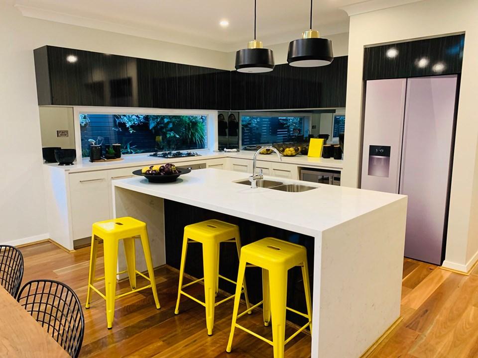 Mẫu thiết kế phòng bếp tuyệt đẹp cho căn biệt thựSydney Úc