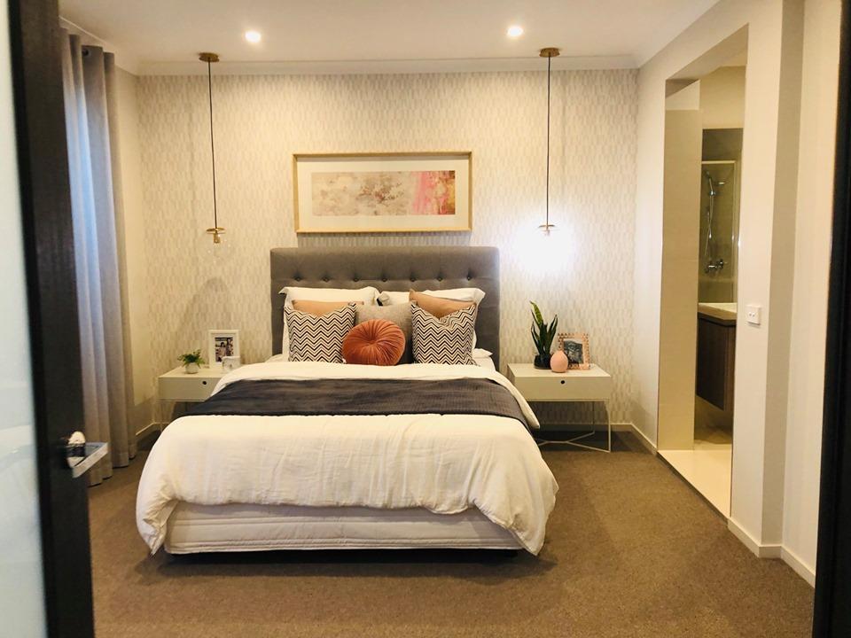 Không gian phòng ngủ lớn của biệt thựSydney Úc