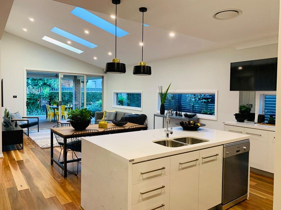 Bàn đảo phòng bếp của biệt thựSydney Úc