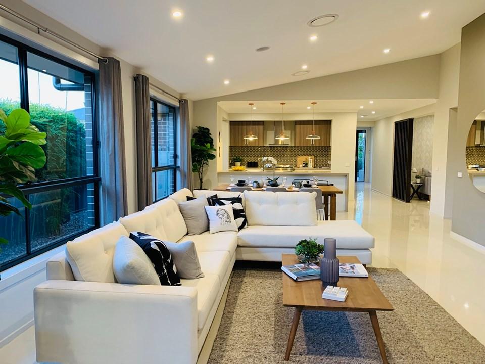 Mẫu bàn ghế sofa của biệt thựSydney Úc