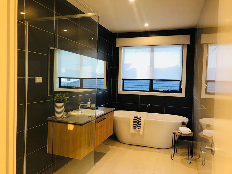 Không gian phòng tắm của biệt thựSydney Úc