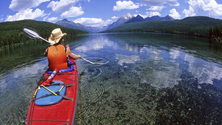 Hồ Bowman, Công viên quốc gia sông băng