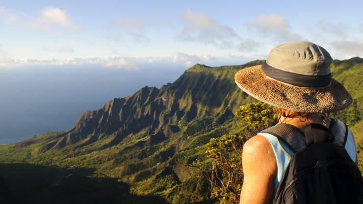 Đài quan sát Kalalau trên đảo Kauai