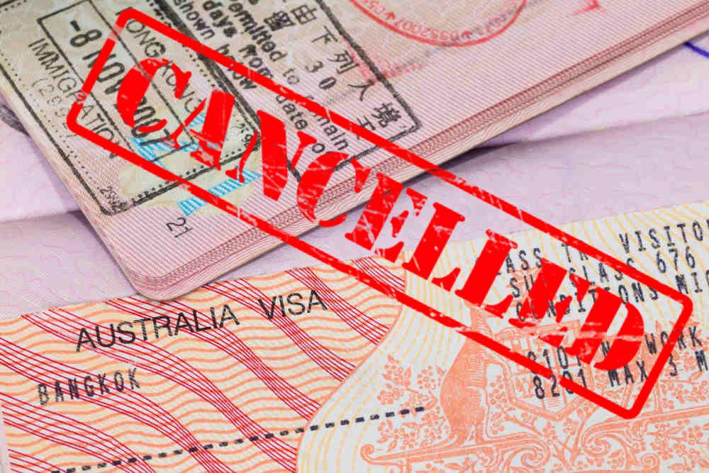 Hủy visa cho những người quá hạn